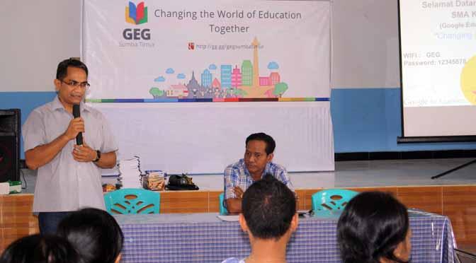 Guru Sumba Timur Belajar GAFE